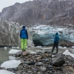 Beginn Marconi Gletscher