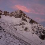 Morgenstimmung beim Aufstieg zur Guillaument