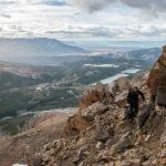 Aufstieg Cerro Madsen
